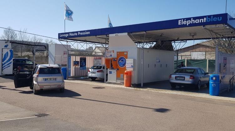 Centre de lavage Eléphant Bleu de MONTBARD