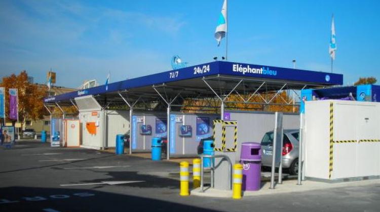 Centre de lavage Eléphant Bleu de REIMS TINQUEUX