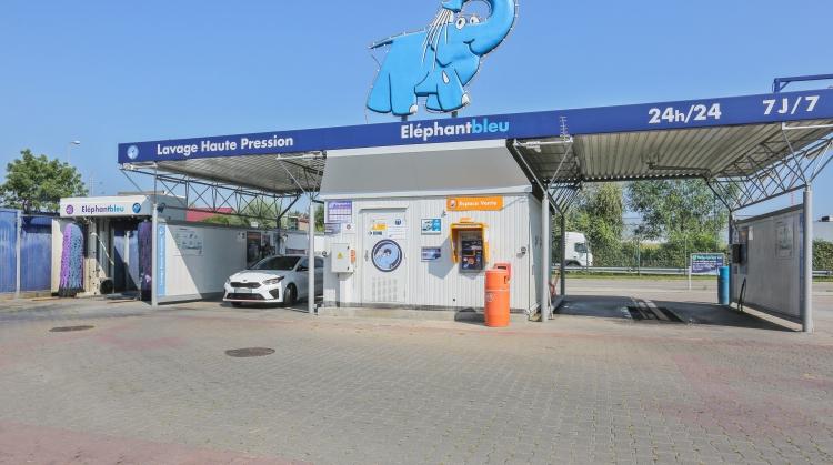 Centre de lavage Eléphant Bleu de HOERDT