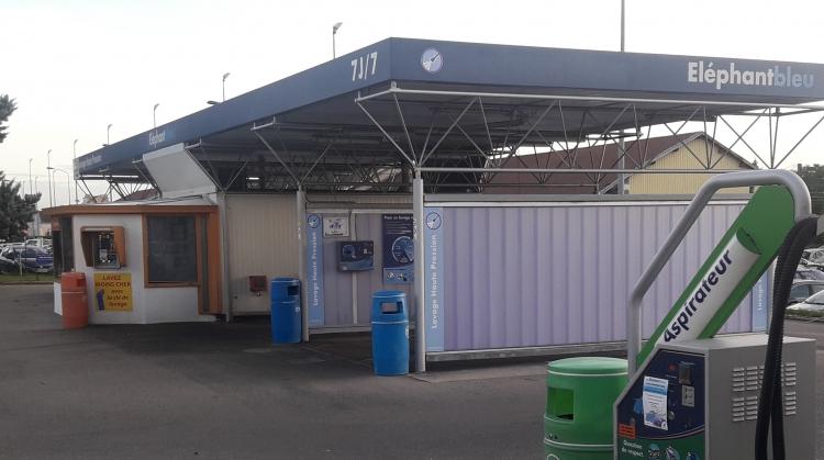 Centre de lavage Eléphant Bleu de VILLEFRANCHE  SUR  SAONE - BLAZET