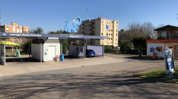 Centre de lavage Eléphant Bleu de DIGOIN