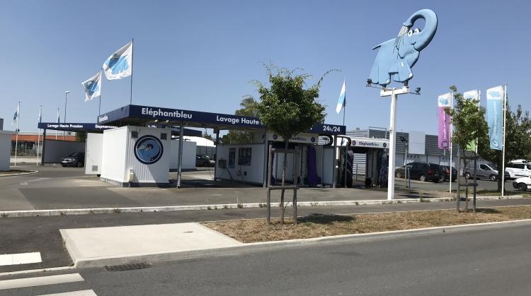 Centre de lavage Eléphant Bleu de LA ROCHE SUR YON
