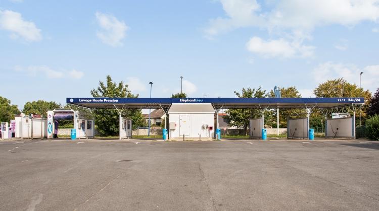 Centre de lavage Eléphant Bleu de MENNECY