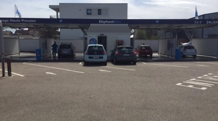 Centre de lavage Eléphant Bleu de DORLISHEIM
