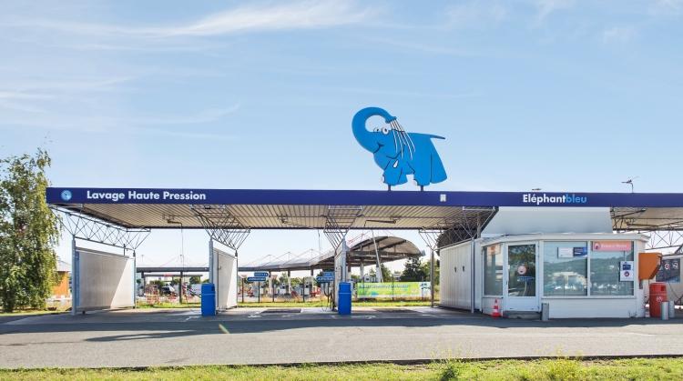 Centre de lavage Eléphant Bleu de FLINS