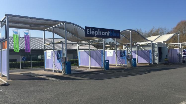 Centre de lavage Eléphant Bleu de DECIZE
