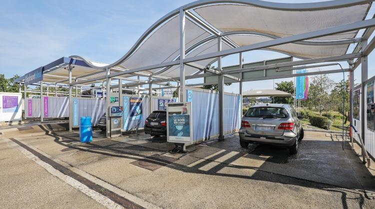 Centre de lavage Eléphant Bleu de ECULLY