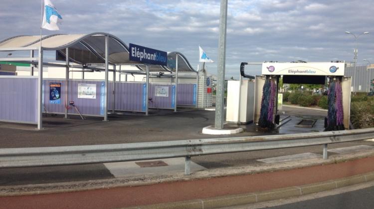 Centre de lavage Eléphant Bleu de MERIGNAC Soleil
