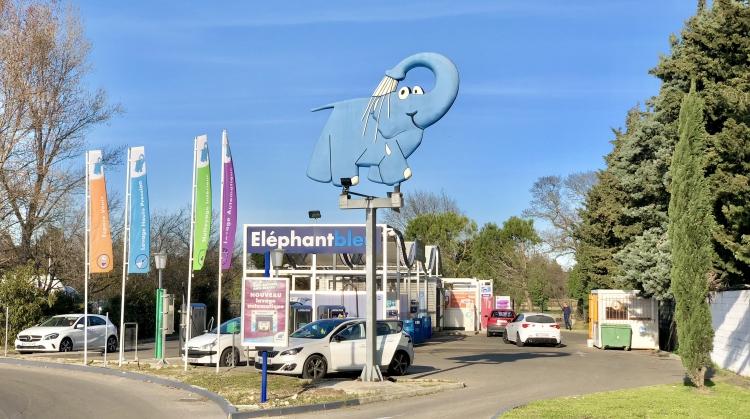 Centre de lavage Eléphant Bleu de NIMES SUD