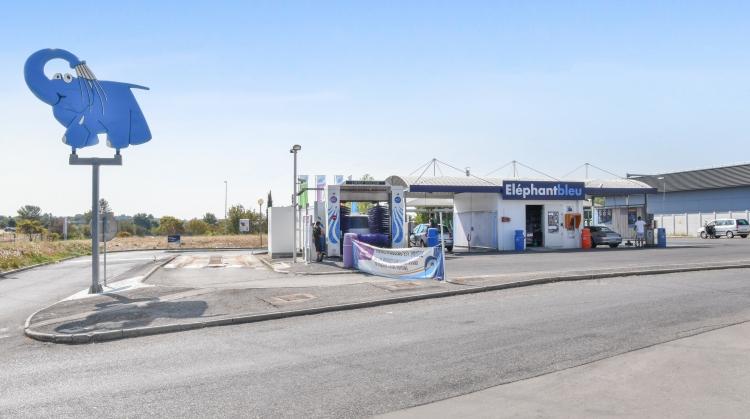 Centre de lavage Eléphant Bleu de SAINT CLEMENT DE RIVIERE