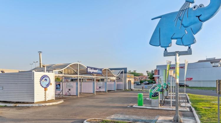 Centre de lavage Eléphant Bleu de TOULOUSE (Purpan)