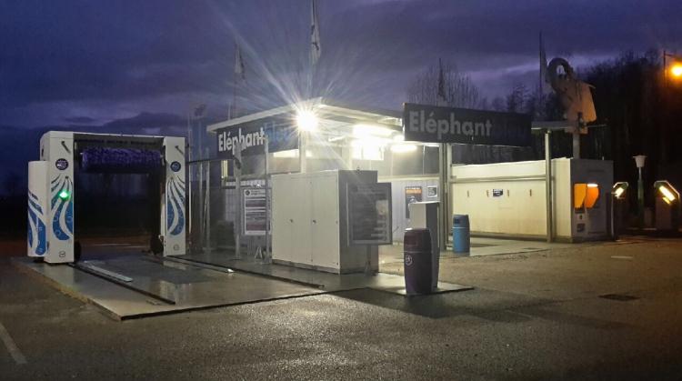 Centre de lavage Eléphant Bleu de HILSENHEIM