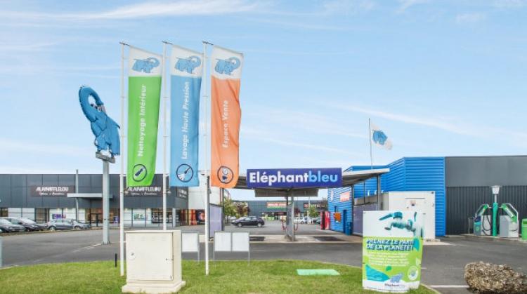 Centre de lavage Eléphant Bleu de CHATELLERAULT
