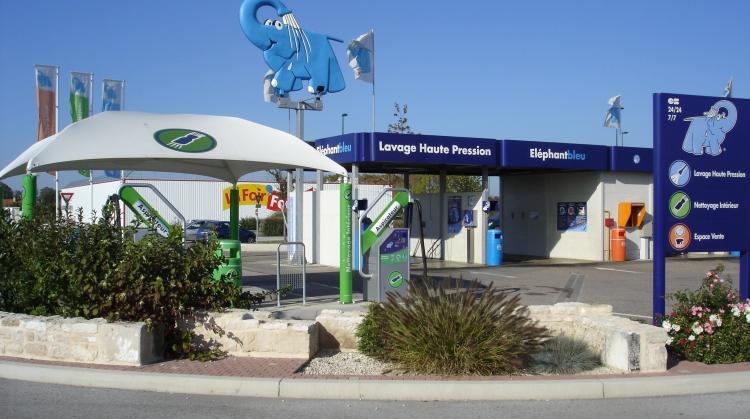 Centre de lavage Eléphant Bleu de SAINTS GEOSMES