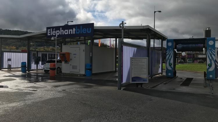 Centre de lavage Eléphant Bleu de CLOUANGE
