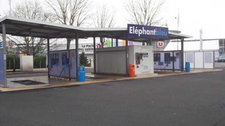 Centre de lavage Eléphant Bleu de CHALLANS