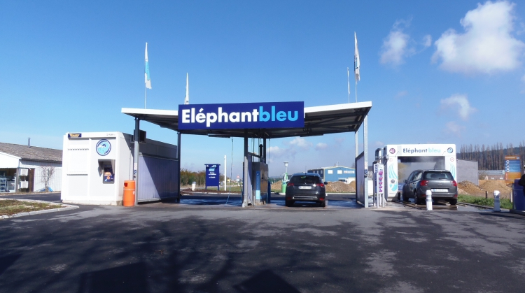 Centre de lavage Eléphant Bleu de BRIONNE