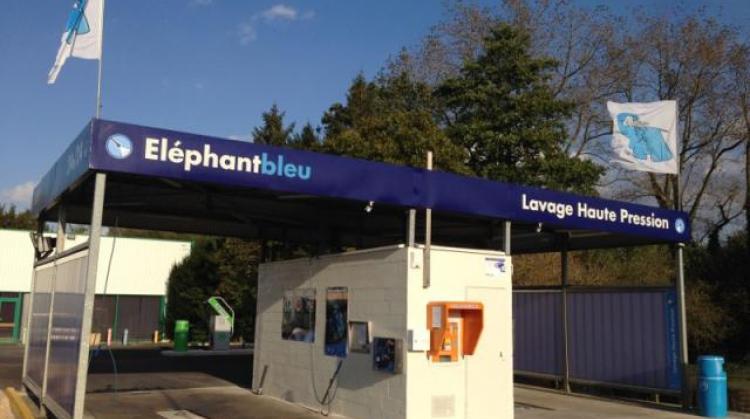 Centre de lavage Eléphant Bleu de BAILLEUL - CENTRE