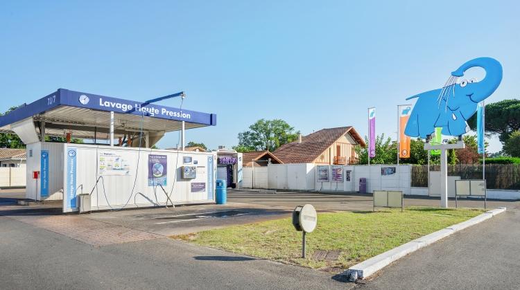 Centre de lavage Eléphant Bleu de MIMIZAN