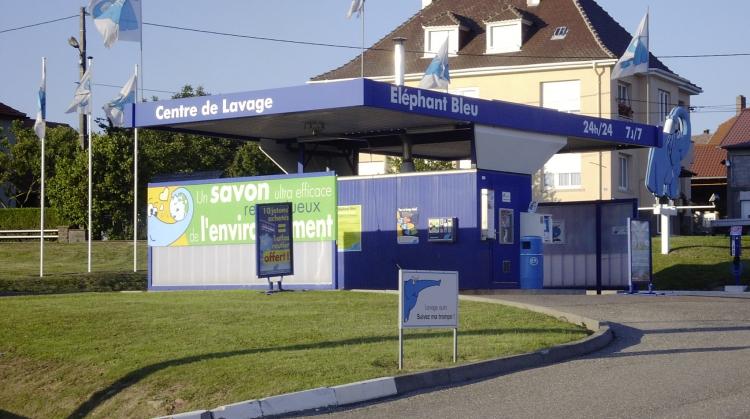 Centre de lavage Eléphant Bleu de PHALSBOURG