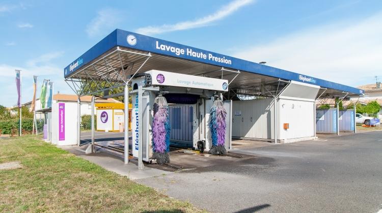 Centre de lavage Eléphant Bleu de VILLENAVE D'ORNON