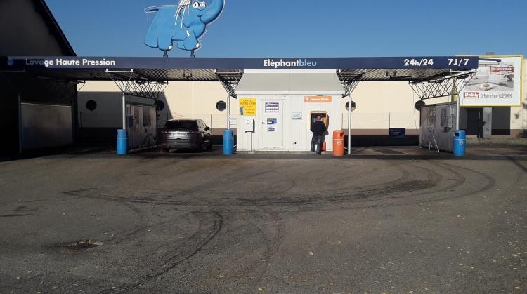 Centre de lavage Eléphant Bleu de VILLEFRANCHE  SUR  SAONE - FRANS