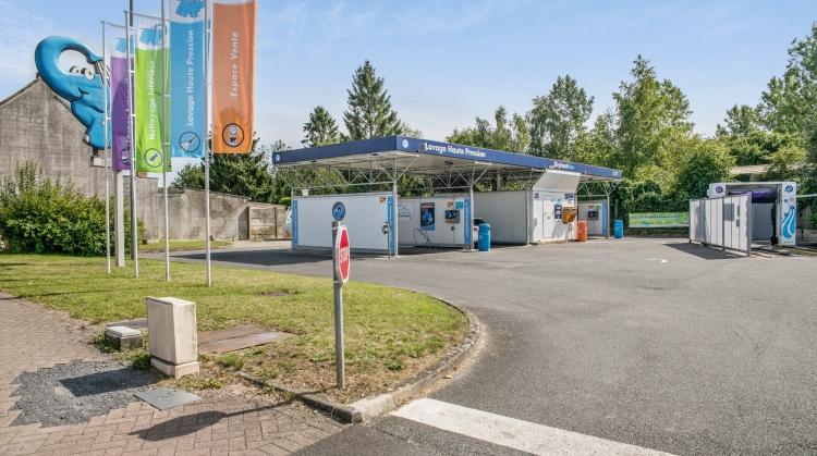 Centre de lavage Eléphant Bleu de AULNOYE AYMERIES