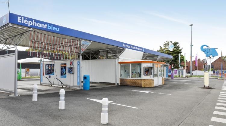 Centre de lavage Eléphant Bleu de SAINT AMAND LES EAUX - RUE PASTEUR
