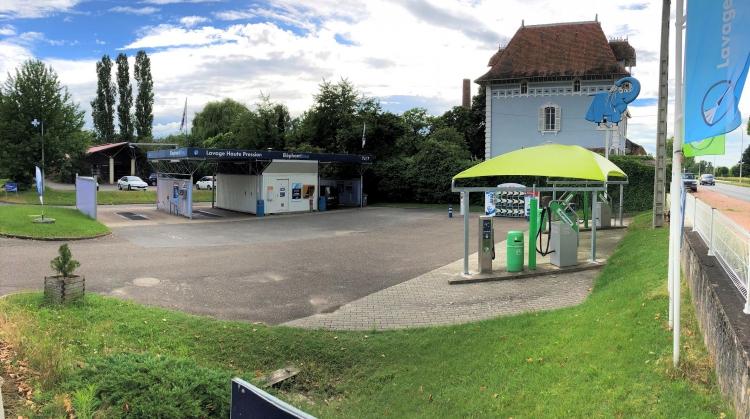 Centre de lavage Eléphant Bleu de PARAY LE MONIAL