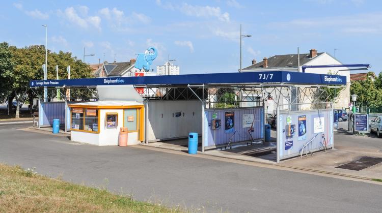Centre de lavage Eléphant Bleu de LIMOGES Nord