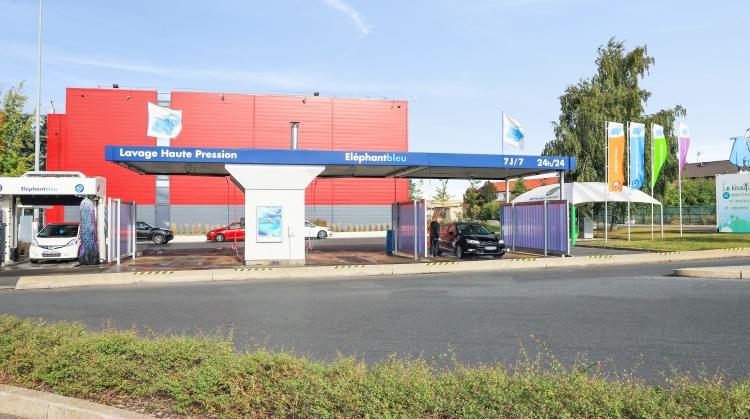 Centre de lavage Eléphant Bleu de BELLAING