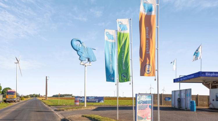 Centre de lavage Eléphant Bleu de ROSIERES EN SANTERRE