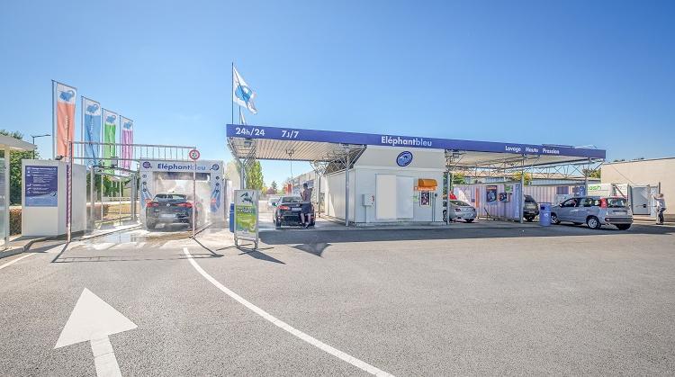 Centre de lavage Eléphant Bleu de SAUMUR