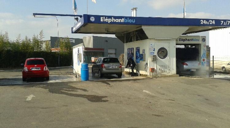 Centre de lavage Eléphant Bleu de MAGNY EN VEXIN - RUE GUTENBERG