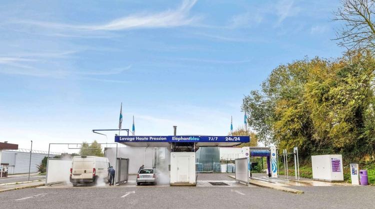 Centre de lavage Eléphant Bleu de MARCONNELLE HESDIN