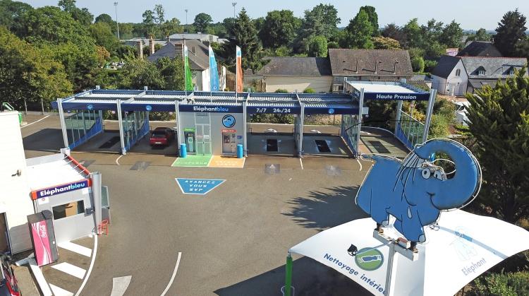 Centre de lavage Eléphant Bleu de SAINT BERTHEVIN