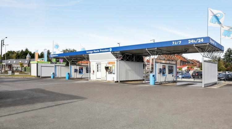 Centre de lavage Eléphant Bleu de CONDE SUR ESCAUT