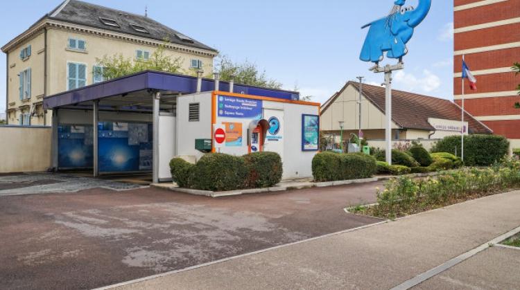 Centre de lavage Eléphant Bleu de TROYES - VANIER