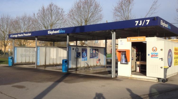 Centre de lavage Eléphant Bleu de PONT STE MAXENCE 853