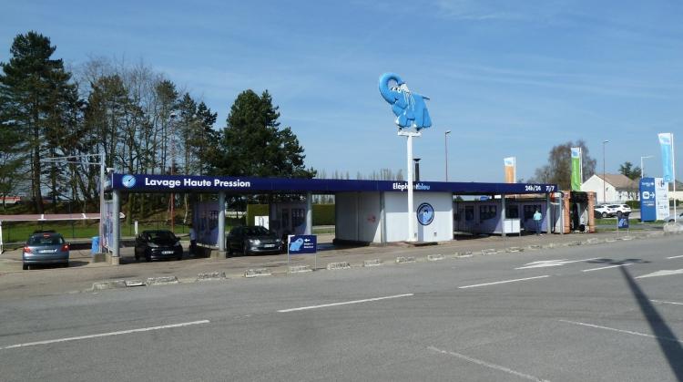 Centre de lavage Eléphant Bleu de BARENTIN