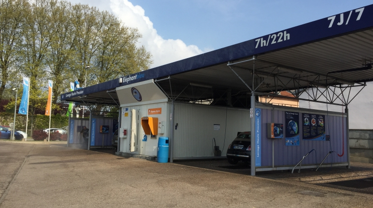 Centre de lavage Eléphant Bleu de NANCY MIRECOURT