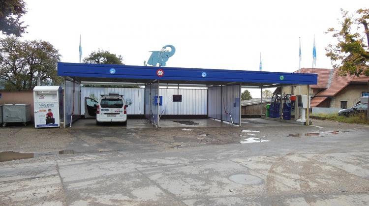Centre de lavage Eléphant Bleu de CERNIER