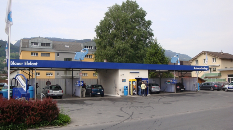 Centre de lavage Eléphant Bleu de MELS