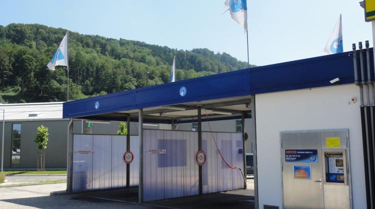 Centre de lavage Eléphant Bleu de MOUDON