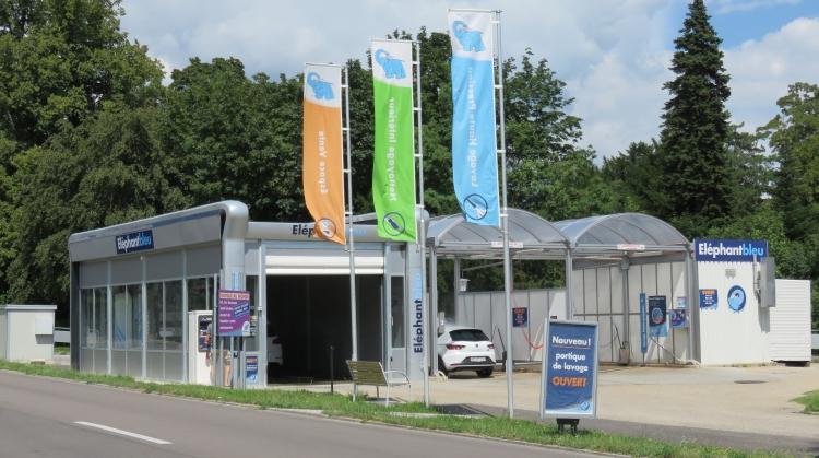Centre de lavage Eléphant Bleu de CORTAILLOD
