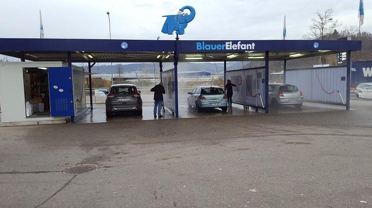 Centre de lavage Eléphant Bleu de KOBLENZ