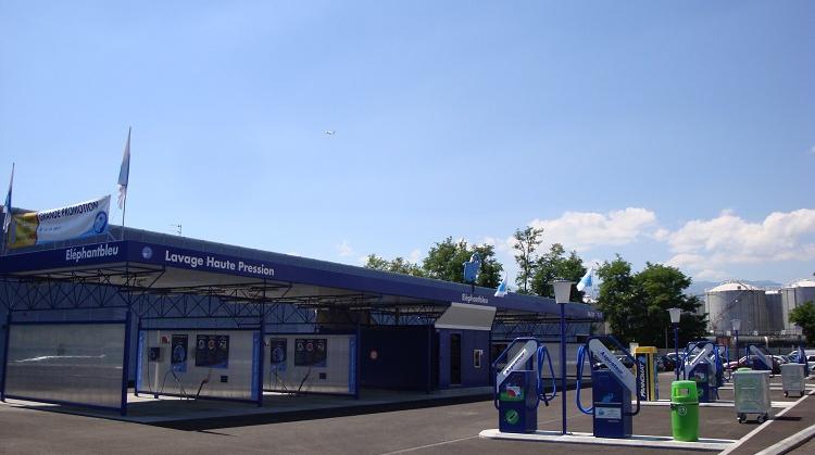 Centre de lavage Eléphant Bleu de CHÂTELAINE