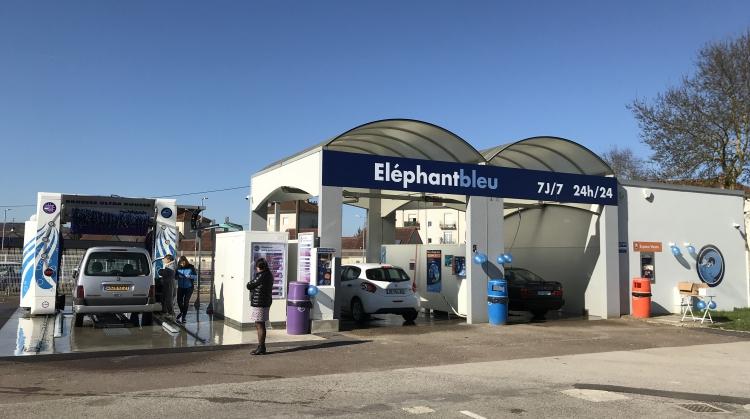 Centre de lavage Eléphant Bleu de CHAGNY