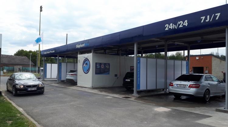 Centre de lavage Eléphant Bleu de FALISOLLE