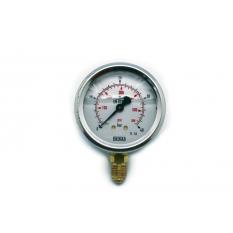 MANOMETRE INOX 0-40 BARS RACCORD BAS M1/4